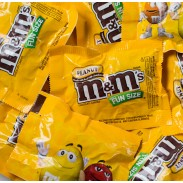 M&M PEANUT FUN SIZE BAGS