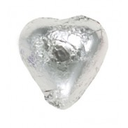 Thompson Silver Foil Milk Chocolate Hearts
