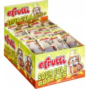 Gummy Cola Bottles Sour Wrapped 80ct.
