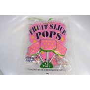 Fruit Slice Pop Strawberry 48ct.