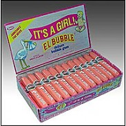 IT'S A GIRL BUBBLE GUM CIGARS