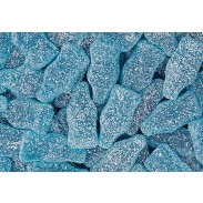 Gummy Blue Raspberry Soda Bottles 2.2lb. Bag