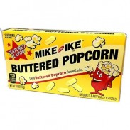 Mike & Ike Buttered Popcorn 5oz. Movie Theater Box