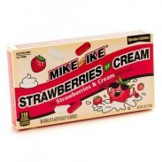 Mike & Ike Strawberry & Cream 5oz. Movie Theater Box