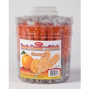 Rock Candy on a Stick 36ct. Tub Orange (Orange Flavor)