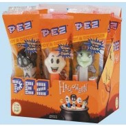 PEZ HALLOWEEN DISPENSERS