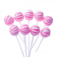 Suckers Petite Pink & White 400ct.