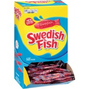 SWEDISH FISH RED 240ctINDIVIDUALLY WRAPPED