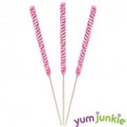 """Twist Lollipops 18"""" Pink"""