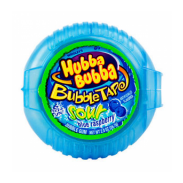 Hubba Bubba Bubble Tape Gum 12ct. Sour Blue Raspberry