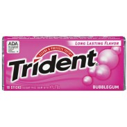 Trident Bubble Gum 15ct