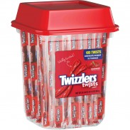 TWIZZLER CANNISTER INDIV. WRAPPED 105ct