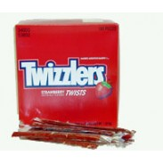 TWIZZLER INDIV. WRAPPED 180ct