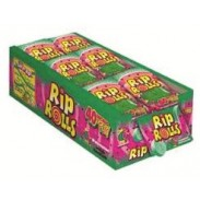 SOUR RIP ROLL WATERMELON 24CT