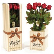 CHOCOLATE ROSES DISPLAY BOX