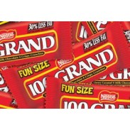 100 GRAND FUN SIZE BARS
