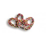 Pretzel Milk Chocolate with Jimmies (Sprinkles)