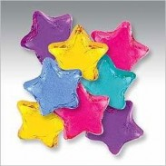 MINI STARS ASSORTED FOILS DARK CHOCOLATE