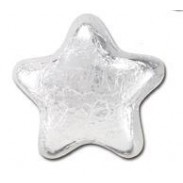 MILK CHOCOLATE STARSSILVER FOILED