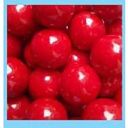 """Gumballs Red 1"""" 2lbs."""