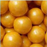 "Gumballs Pearl Gold 1"" 2lbs."
