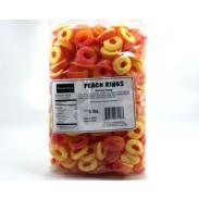 Kervan Gummy Peach Rings 5lb