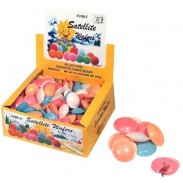 FLYING SAUCERS W/BEADS (Satellite Wafers w Candy Pearls)
