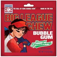 Big League Chew Strawberry 12ct