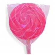 Color Splash Swirly Pops Hot Pink 1.5oz 12ct