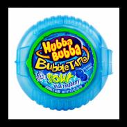 Hubba Bubba Bubble Tape Gum 12ct. Sour Blue Raspberry