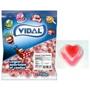Gummi Triple Hearts 4.4lb Bulk