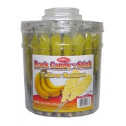 Rock Candy on a Stick 36ct. Tub Yellow (Banana Flavor)
